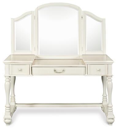 Magnussen Y185848VM Summerhill Series Youth Desk with Vanity Mirror Childrens  Desk