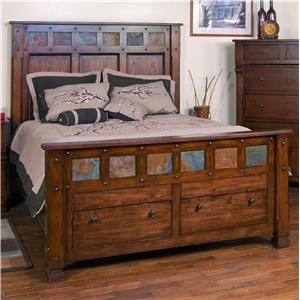 Sunny Designs 2322DCBEDS Santa Fe Beds in Three Sizes