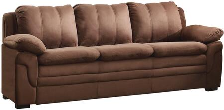 """Glory Furniture 80"""" Sofa with Removable Backs, Wood Frame and Microfiber Upholstery in"""
