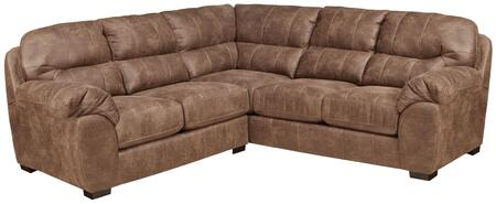 "Jackson Furniture Grant Collection 4453-46-72- 102"" 2-Piece Sectional with Left Arm Facing Loveseat and Right Arm Facing Section with Corner in"