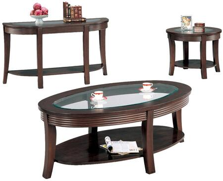 Coaster 5525CES Simpson Living Room Table Sets