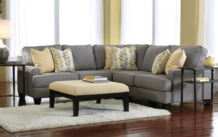 Milo Italia MI94523PSECOALLO Peyton Living Room Sets