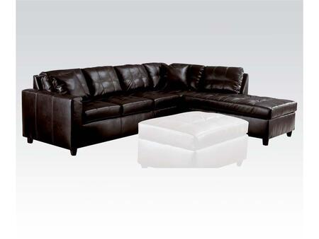 Acme Furniture 51320 Milano Series Stationary Bonded Leather Sofa
