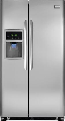Frigidaire FGUS2642LF Freestanding Side by Side Refrigerator