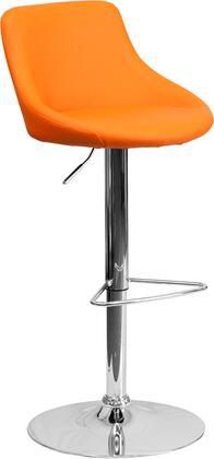 Flash Furniture CH82028MODORGGG Residential Vinyl Upholstered Bar Stool