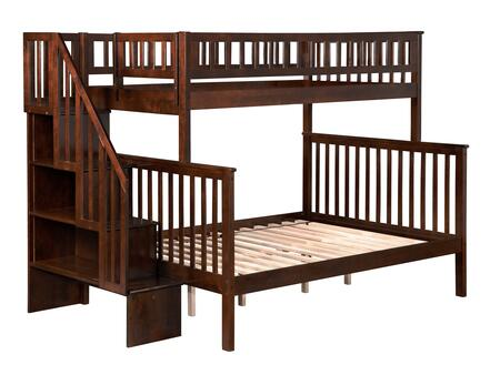 Atlantic Furniture AB56704  Twin Over Full Size Bunk Bed