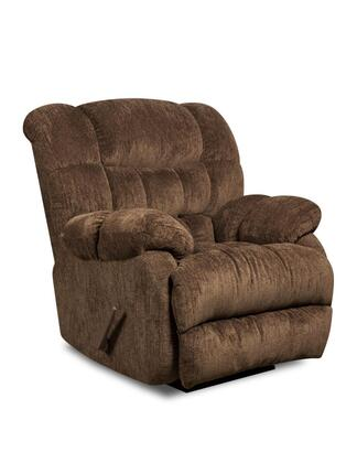 Chelsea Home Furniture 1894605860PWR Laguna Series Transitional Polyester Wood Frame Rocking Recliners