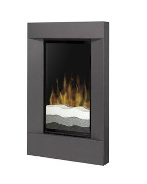 Dimplex V1525RTGM Wall Mountable Electric Fireplace