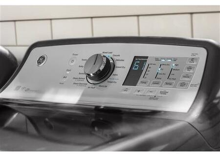 GE GTD75ECPLDG 27 Inch Electric Dryer with 7 4 cu  ft  Capacity