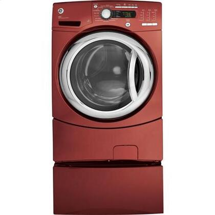 GE GFWS3505LMV  4.9 cu. ft. Front Load Washer, in Red