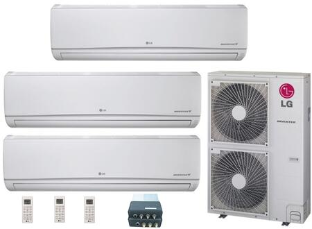 LG 704617 Triple-Zone Mini Split Air Conditioners