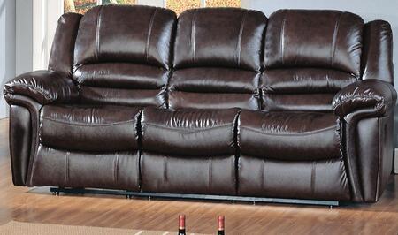 Yuan Tai SU2990SBR Sutton Series Sofa Leather Sofa