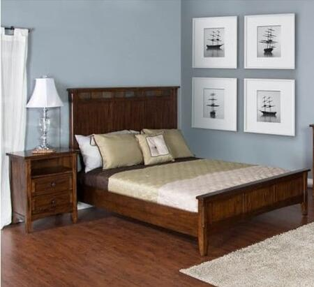 Sunny Designs 2395DCQBBEDROOMSET Santa Fe Queen Bedroom Sets