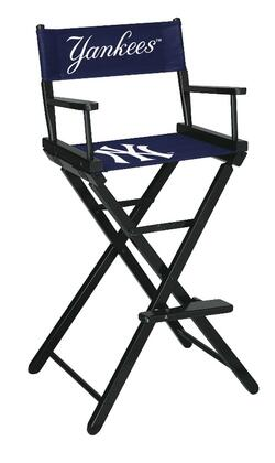Imperial International 200-20 MLB Themed Bar Height Director's Chair with Straight Line Leg Rack