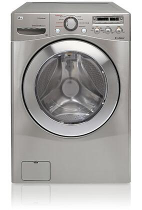 LG WM2501HVA  4.2 cu. ft. Front Load Washer, in Chrome