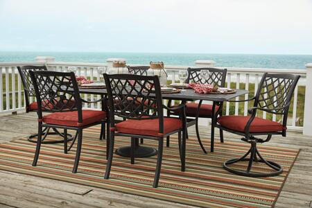 Signature Design by Ashley P5576357S Tanglevale Patio Sets
