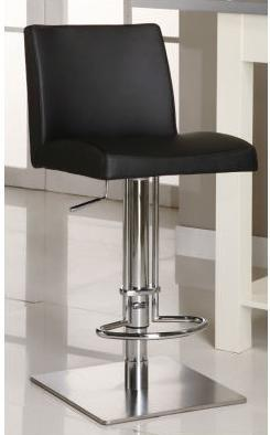 Chintaly 0814ASBLK  Bar Stool