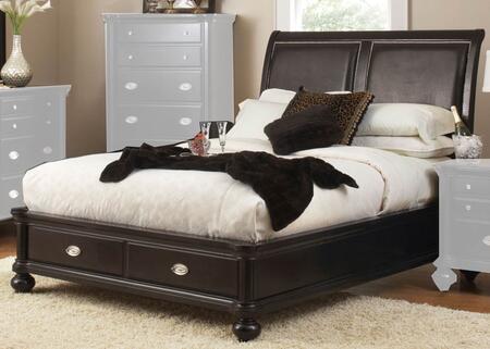 Coaster 201861KE Valerie Series  King Size Storage Bed