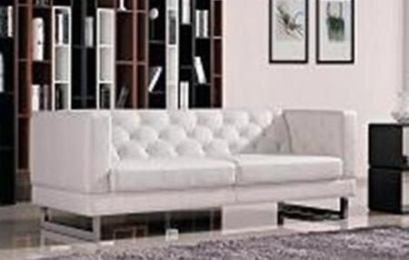 DG Casa 61503SWHT Palomar Series  Sofa