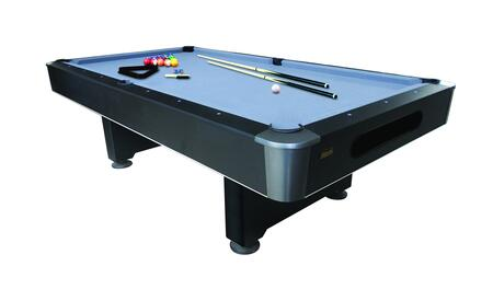 Mizerak P5423W Pool Bed Billiard Table with an Accessory Kit - 2 Cues, a Set of Balls, a Triangle, a Brush, and 2 Chalks