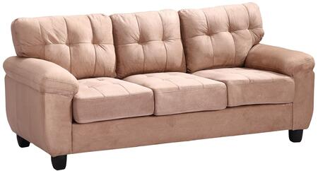 Glory Furniture G904AS  Stationary Suede Sofa