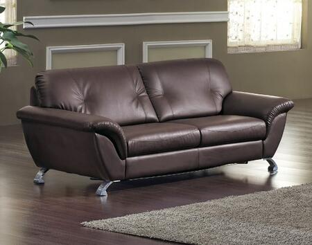 VIG Furniture VGDM2820 Divani Casa Series Pull-Out Bonded Leather Sofa