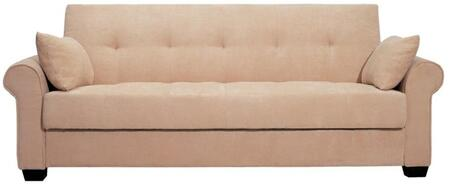 Lifestyle Solutions CCROXJHSET Casual Convertibles Series  Fabric Sofa
