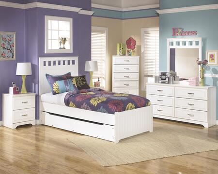 Signature Design by Ashley B102TPTDM2NC Lulu Twin Bedroom Se