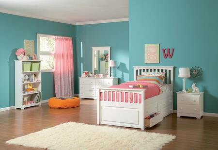 Atlantic Furniture MAT4WHFL  Full Size Bed