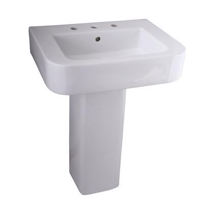 Barclay 3888WH White Bath Sink