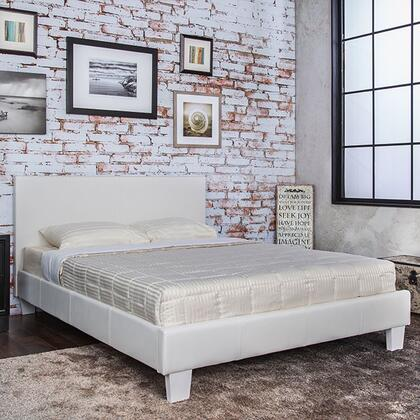 Furniture of America CM7008WHFBED Winn Park Series  Full Size Platform Bed