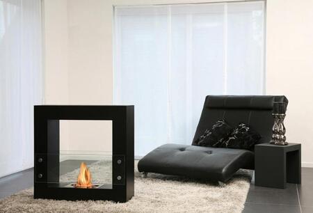Bio-Blaze BBQS0 Small Qube Bio Ethanol Burning Fireplace