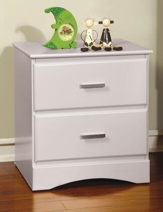 Furniture of America CM7941WHN Prismo Series  Night Stand