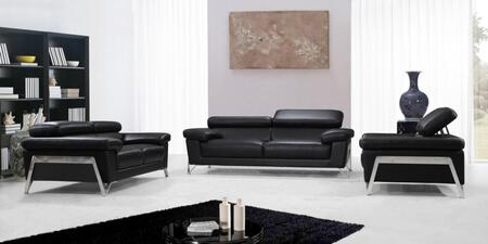 VIG Furniture VG2T0724 Modern Leather Living Room Set