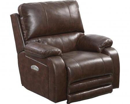 Catnapper 7647627115259125259 Thornton Series Contemporary Faux Leather Metal Frame  Recliners