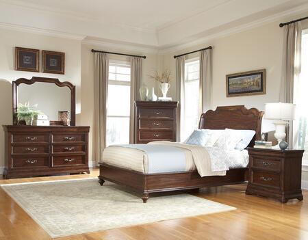 American Woodcrafters 8000KS4SET King Bedroom Sets