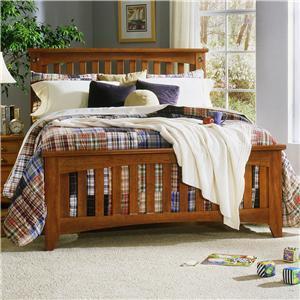 Standard Furniture 5702A City Park Series  Queen Size Panel Bed