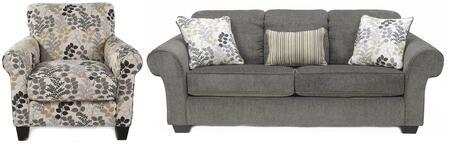 Signature Design by Ashley 78000SAC Makonnen Living Room Set