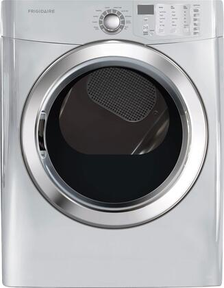 "Frigidaire FFSE5115P 27"" Freestanding Front Load Electric Dryer With 7 cu. ft. Capacity, Ready Steam, Ready-Select Controls, Quick Dry, Precision Dry Moisture Sensor and One-Touch Wrinkle Release in"