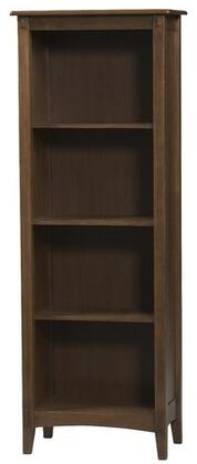 Linon 86198C13701KDUMission Series Solid Pine, and MDF with Pine Veneer 4 Shelves Bookcase