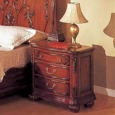 Yuan Tai 4053N Richmond Series Rectangular Wood Night Stand