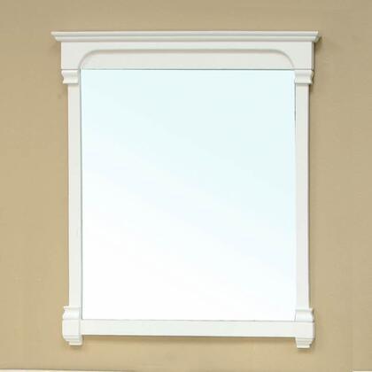 "Bellaterra Home 205042-MIRROR- 36"" Solid Wood Frame Mirror:"