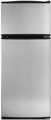 "Whirlpool W8RXEGMWS28"" Freestanding Top Freezer Refrigerator with 17.5 cu. ft. Total Capacity 3 Glass Shelves 4.1 cu. ft. Freezer Capacity"