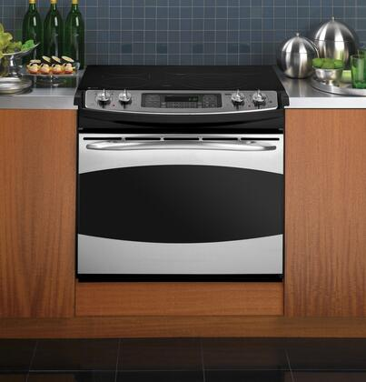 GE PD968SPSS Profile Series Slide-in Electric Range with Smoothtop Cooktop 4.1 cu. ft. Primary Oven Capacity