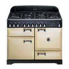 AGA ALEG36ECDCRM Legacy Series Electric Freestanding Range with Smoothtop Cooktop, 1.8 cu. ft. Primary Oven Capacity, in Cream
