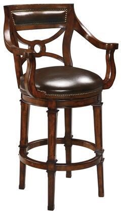 Ambella 16000510001 Residential Leather Upholstered Bar Stool