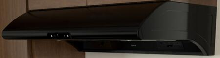 """Zephyr AK2100B x"""" Essentials Power Series Typhoon Under Cabinet Hood with 850 CFM, 5 Sones, ACT  Technology, 6 Speed Levels and 2 Halogen Lighting, in"""