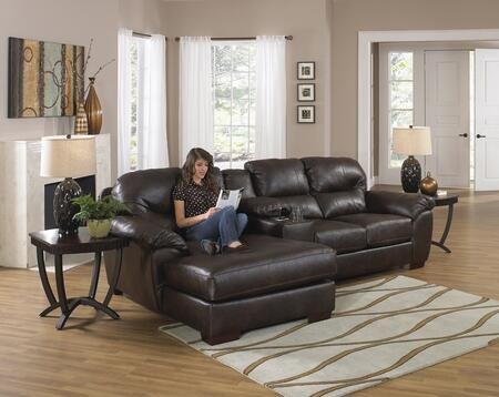 """Jackson Furniture Lawson Collection 4243-75-88-42- 118"""" 3-Piece Sectional with Left Arm Facing Chaise, Console with Entertainment and Right Arm Facing Loveseat in"""