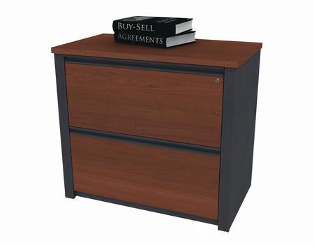 """Bestar Furniture 99636 Prestige + 36"""" assembled lateral file"""