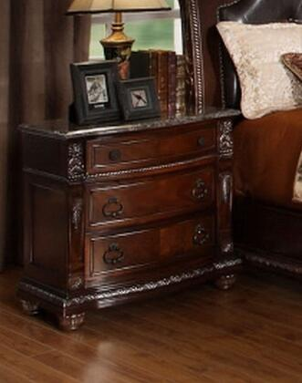 Meridian PALAZZONS Palazzo Series Rectangular Wood Night Stand
